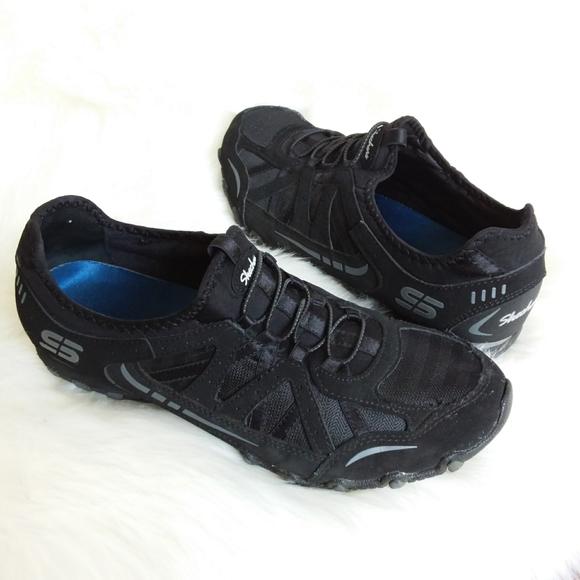 Black Slipon No Lace Sneakers | Poshmark